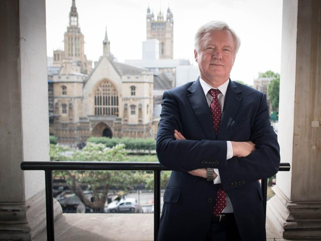 David Davis, MP for Haltemprice and Howden in East Yorkshire, has warned the Government against introducing a Covid-19 passport scheme. Pic: PA