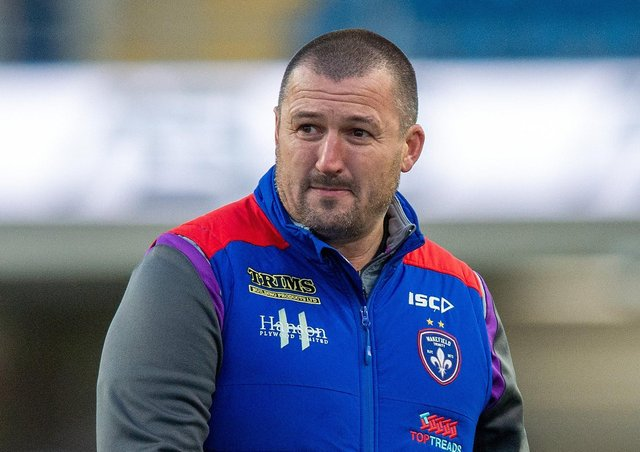Wakefield head coach Chris Chester. Picture Bruce Rollinson