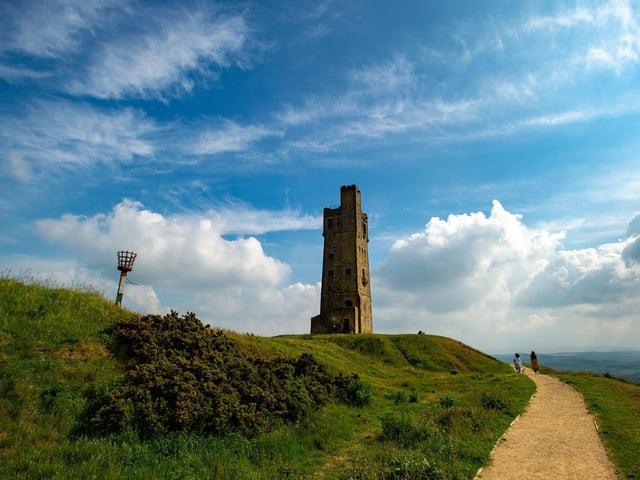 Castle Hill in Huddersfield