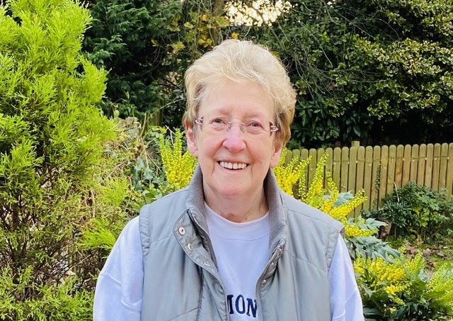 Brenda Garnett, from Eckington near Sheffield.
