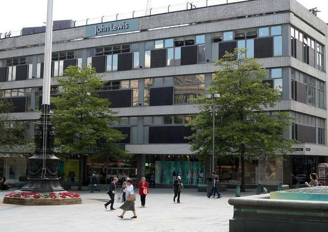 John Lewis in Barker's Pool, Sheffield, is to close.