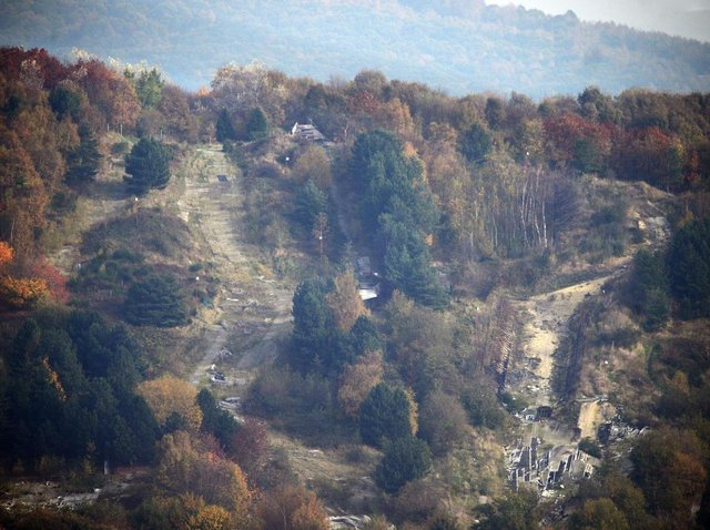 The Sheffield Ski Village site has been left derelict since it was hit by fire in 2012