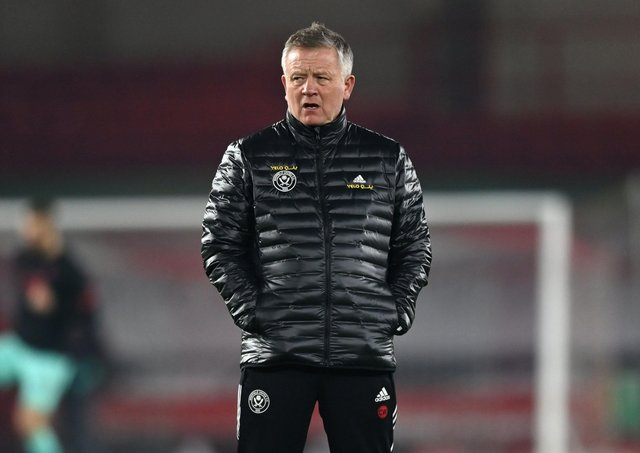GONE: Former Sheffield United manager Chris Wilder. Picture: Shaun Botterill/PA