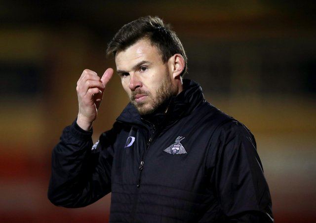 POSITIVE TALKS: Doncaster Rovers interim manager Andy Butler. Picture: Nick Potts/PA
