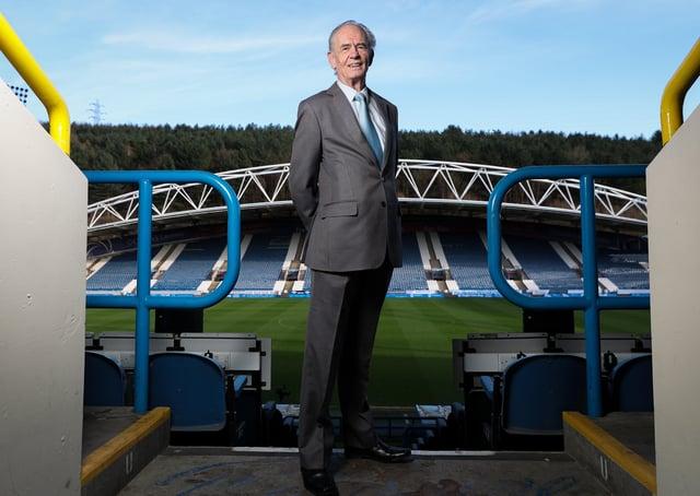 Huddersfield owner Ken Davy. Picture: Alex Whitehead/SWpix.com