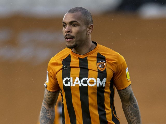 MISSING: Josh Magennis is away on international duty with Northern Ireland