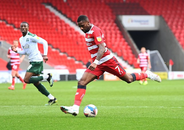 In tune:  Doncaster's Omar Bogle. Picture: AHPix