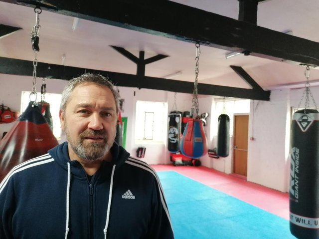 Craig Welsh, owner of Strassegym, is to offer self-defence advice to dog walkers after a rise in dog thefts