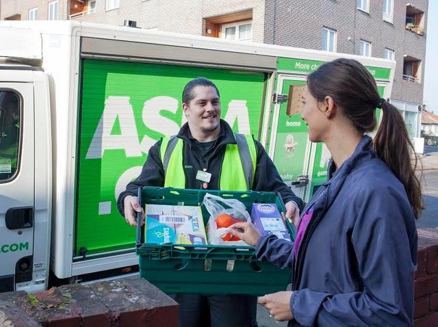Asda has said store jobs are not comparable to distribution centre jobs