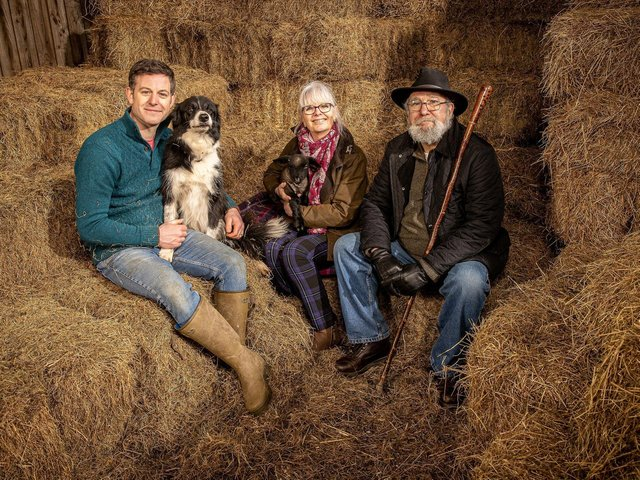 The presenter has documented his move back to the family farm in a new TV series