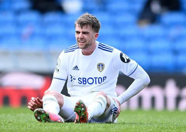 Leeds United's Patrick Bamford is still waiting for the England call (Picture: PA)
