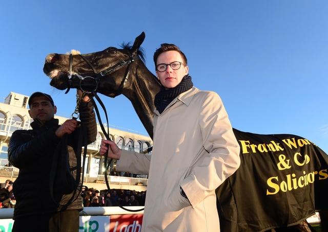 Pleased: 1,000 Guineas hopeful Pretty Gorgeous's trainer, Joseph O'Brien. Picture: PA