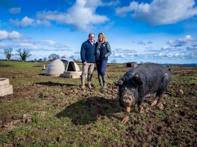 John and Helen Bell farm heritage breeds