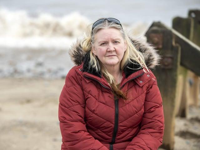 Anne Larkin lost around £500,000 to romance fraudsters.