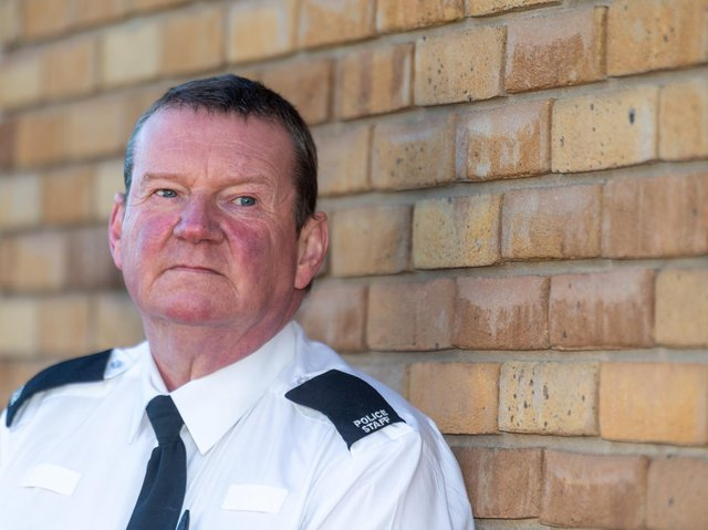 Andy Foster, a Fraud Protect Officer for South Yorkshire Police.
