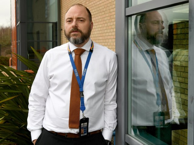 Detective Sergeant Ben Robinson from Humberside Police.