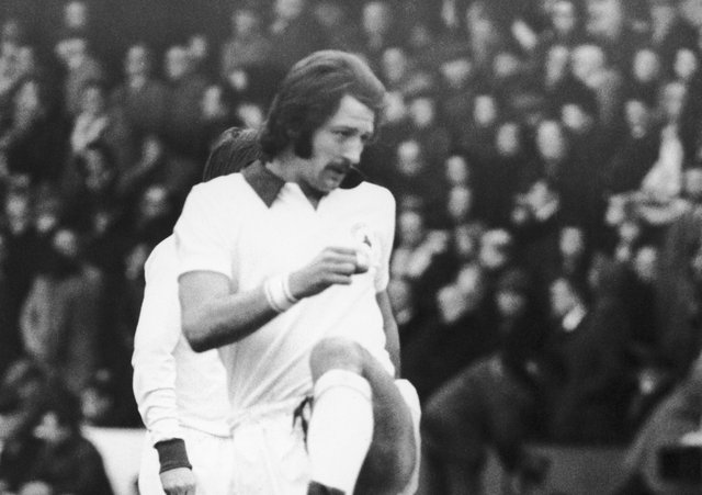 Sad passing: Frank Worthington. Picture: Getty Images