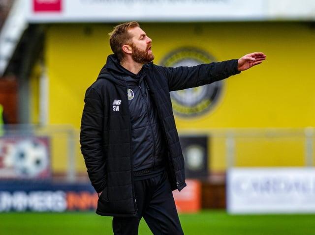 CHALLENGE: Harrogate Town manager Simon Weaver