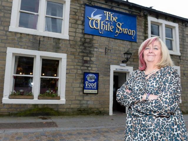 Elizabeth Wood has run The White Swan for 40 years