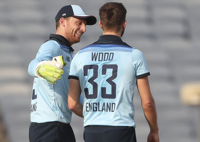 Jos Buttler: 'We've been a brilliant side for a long time now, I wouldn't read too much into it'. (Picture: AP)