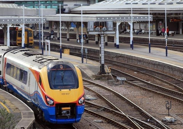 What is the future of rail services in Sheffied and the surrounding area?