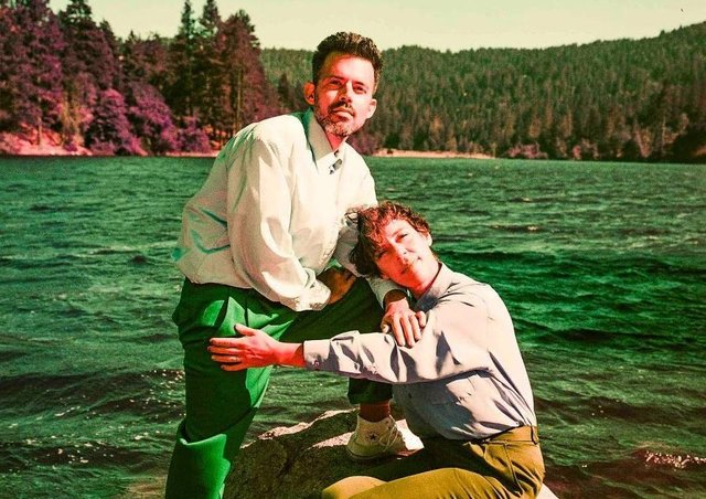Nate Brenner and Merrill Garbus of Tune-Yards.