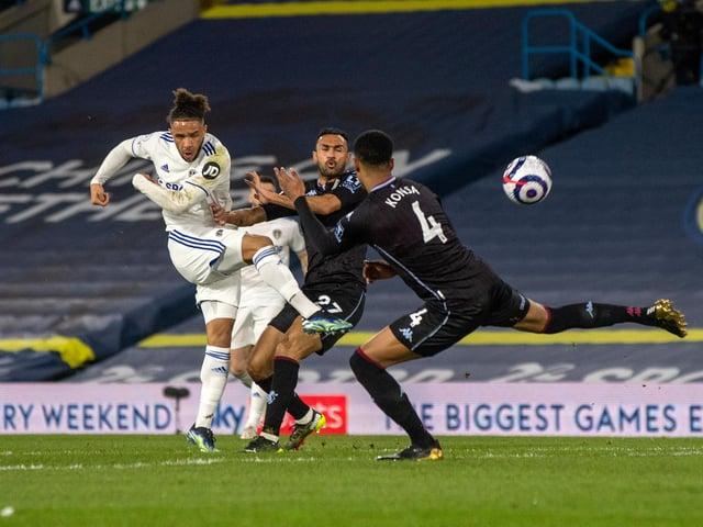 DISCIPLINED: Leeds United midfielder Tyler Roberts