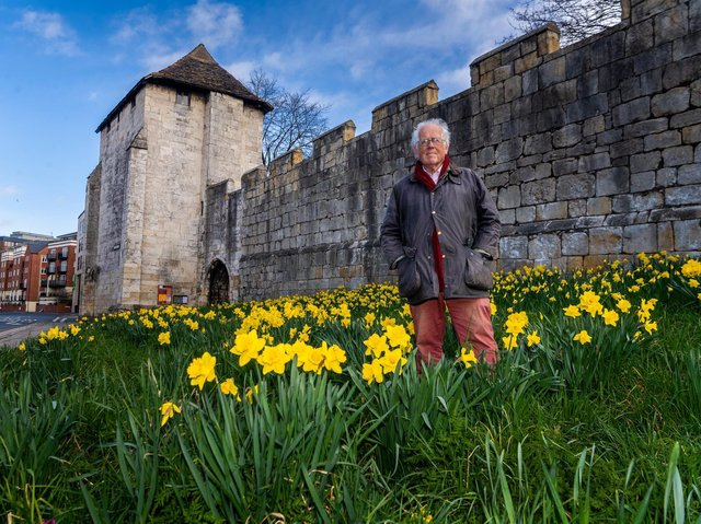 Bill Hill unveiled plans for this year's York Walls Festival