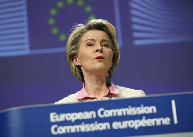 European Commission President Ursula von der Leyen.
