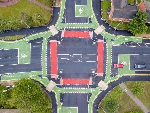 How the CYCLOPS junction is laid out
