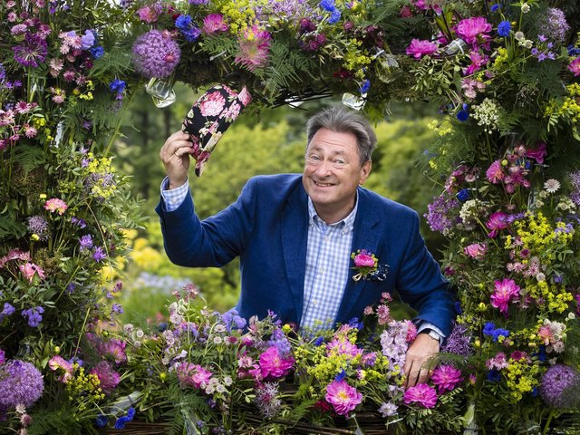 Alan Titchmarsh at the 2019 Harrogate Flower Show. Picture: Danny Lawson/PA