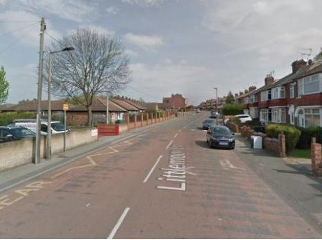 The 76-year-old woman was walking along Littlemoor Lane in Balby, Doncaster at around 9.10am on Monday (March 29) when she is alleged to have been hit by the vehicle.