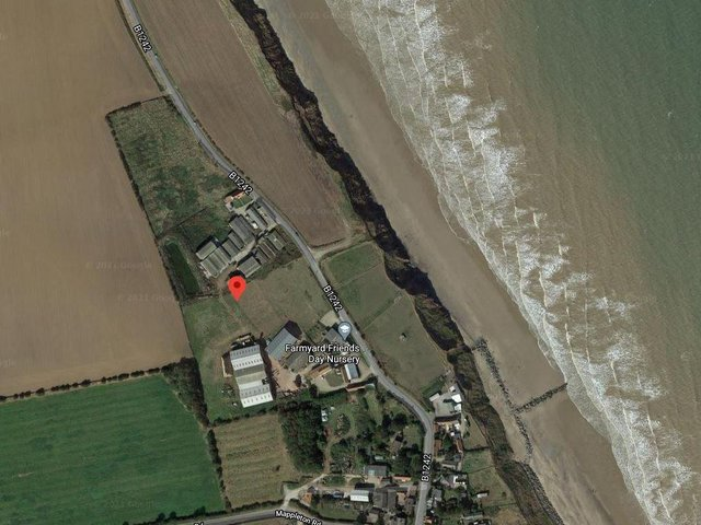 The holiday park is earmarked for six acres of land at Sea View Farm, on the outskirts of Mappleton in East Yorkshire