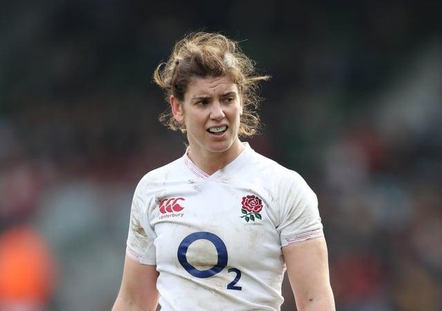 England's Sarah Hunter: Title priority.