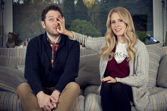 Jon Richardson and Lucy Beaumont are back in a new series of Meet the Richardsons.