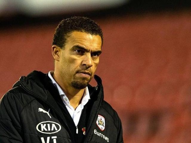 GROUNDED: Barnsley FC head coach Valerien Ismael.
