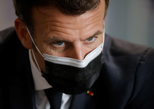 French President Emmanuel Macron has just announced a new lockdown.
