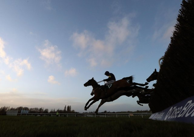 A general view of racing (Picture: PA)