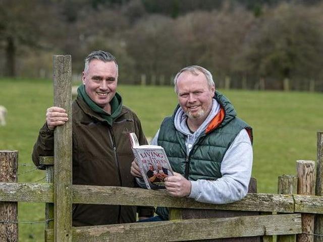 Brothers David and Rob Nicholson at Cannon Hall Farm.