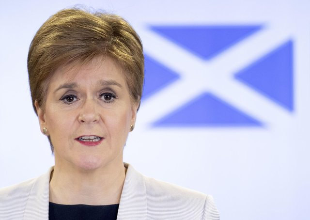 Nicola Sturgeon is the First Minister of Scotland.