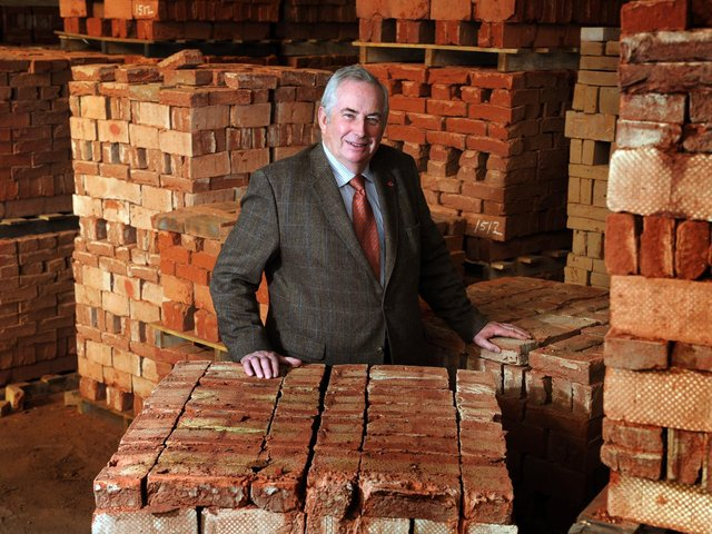 Brick in the wall: David Armitage is the fifth generation of his family to run York Handmade.