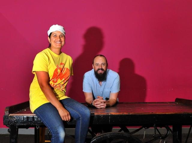 Manjit and husband Michael hope that Manjit's Kitchen will be busy again soon. (JPIMedia).