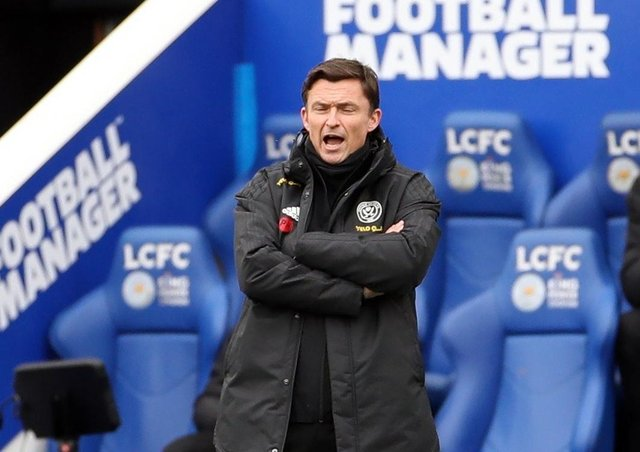 Looking for signs: Sheffield United caretaker manager Paul Heckingbottom.