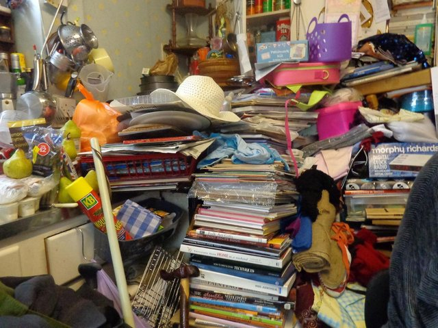 """Cases of hoarding have risen over the past year, as many have been forced to """"confront their problems"""", says a charity"""