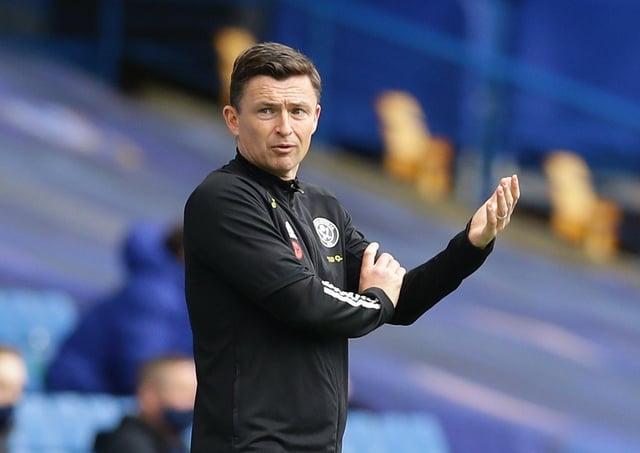 Paul Heckingbottom interim manager of Sheffield Utd.  Picture: David Klein/Sportimage