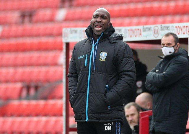 Sheffield Wednesday manager Darren Moore. Picture: PA