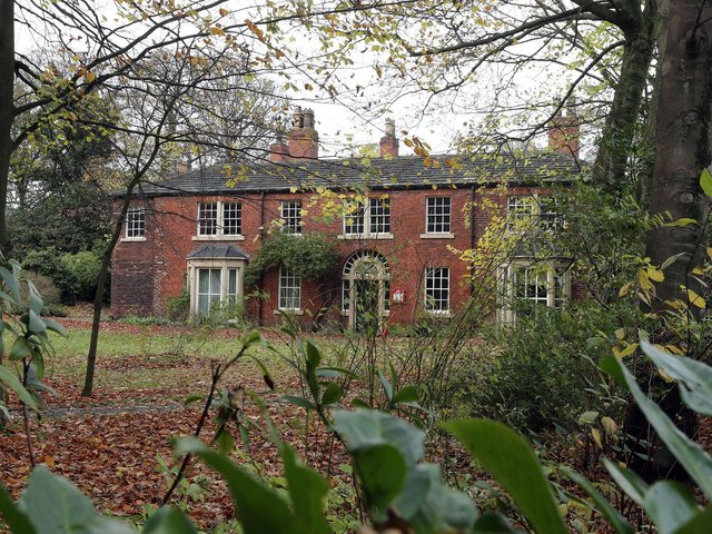 The Red House in Gomersal