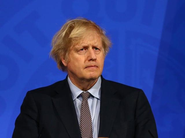 "Boris Johnson is to set out plans to develop a ""Covid status certification"" scheme"