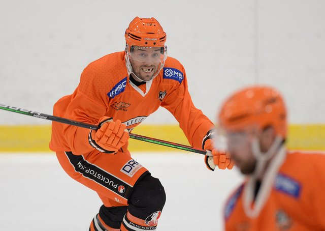 IMPACT PLAYER: Jason Hewitt is tipped to play a vital role for Sheffield Steelers during the forthcoming Elite Series. Picture: Dean Woolley.