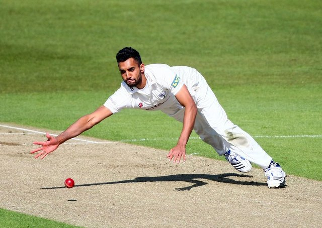 GOOD TIMES: Yorkshire's Ajmal Shahzad in action against Kent back in 2012. Picture by Vaughan Ridley/SWPix.com